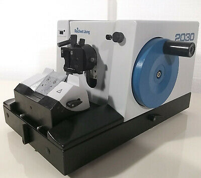 Leica Reichert Jung Biocut 2030 Manual Retracting Microtome + Knife Holder