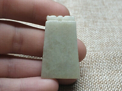AAAAA Chinese Exquisite Hand-carved Natural Jade jadeite Pendant (jade wear)