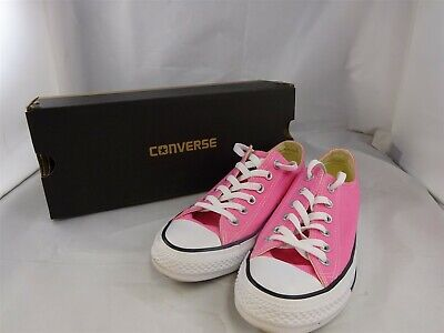 Converse All Star Size UK 6 Women's Pink Canvas Low Top Lace Up Shoes M9007C