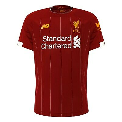 NEW Liverpool 2019/2020 Premier League season Football Soccer Home shirt Jersey