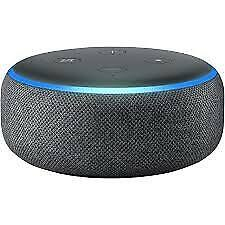 Amazon Echo Dot (3rd Gen) Smart speaker with Alexa Heather Grey Fabric