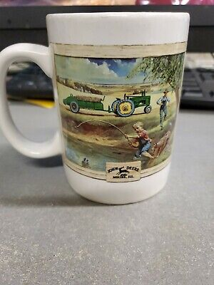 JOHN DEERE 12+ oz. COFFEE MUG / CUP, ITEM # 31058