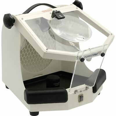 Foredom Malc15 Work Chamber Lighted Enclosure Hood For Dust Collector 110/220V