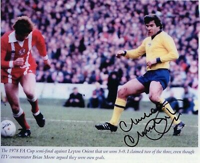 Malcolm Macdonald Autograph,  Arsenal Football Club