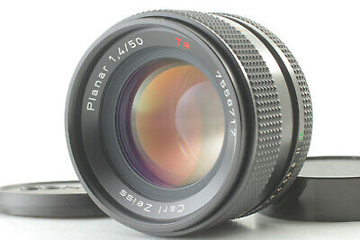 【N MINT 】 Contax Carl Zeiss Planar 50mm F1.4 T* MMJ Lens for RTS From Japan  #63