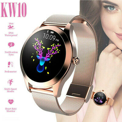 KW10 Smart Watch Women Lady Wristband Fitness Tracker Waterproof For iOS Android