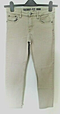 H&M Girls SKINNY JEANS with STRETCH age 11-12 yrs Height 152 cm STONE