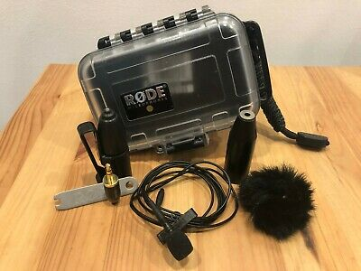 Rode Lavalier Omni Condenser Mic WITH MiCon-5 for XLR adapter