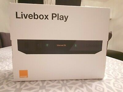Livebox Play  -Orange , Modem V3 neuf ADSL /Fibre