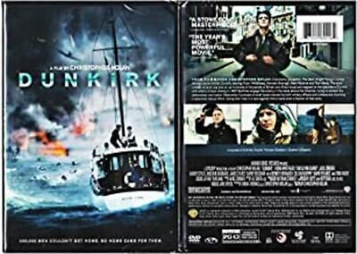 DUNKIRK (DVD, 2017, Widescreen) New / Factory Sealed / Free Shipping