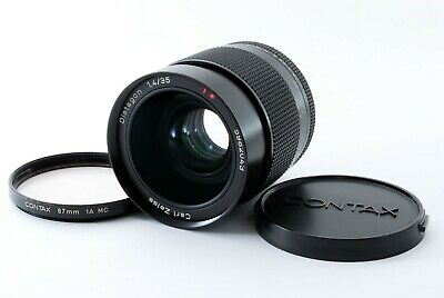 [EXCELLENT+++++] Contax Carl Zeiss Distagon T* 35mm f1.4 AEG MF Lens from JAPAN