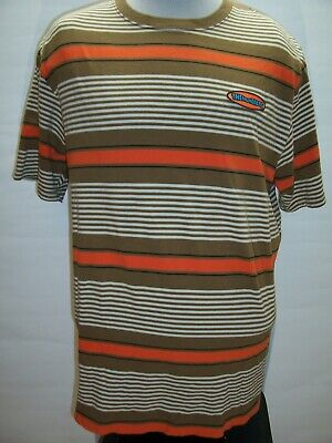 THE HUNDREDS Mens XL X-Large Striped T shirt Combine ship Discount