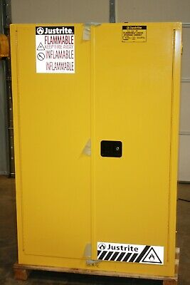 New Justrite  60 Gallon Flammable Storage Cabinet 5 Shelf