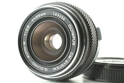 [N Mint] Olympus OM-SYSTEM G.Zuiko Auto W 35mm f/2.8 Wide Angle Lens From Japan