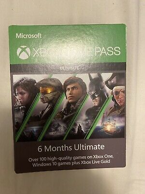 Xbox Game Pass Ultimate 6 Month Membership