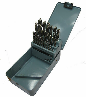 """Rdgtools 29Pc High Speed Steel White Finish Imperial Drill Set 1/16"""" - 1/2"""" Wf05"""