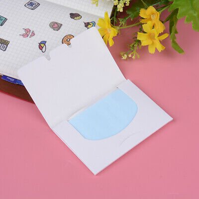 1Pack/50Pcs Clean And Clear Oil Absorbing Sheets Oil Controlfilm Blottingpape JE