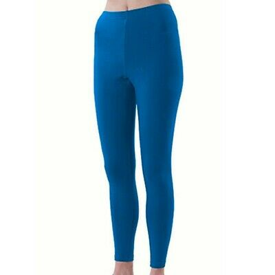 Pizzazz Girls Royal Blue Sport Cheer Dance Tights Ankle Length 6-14