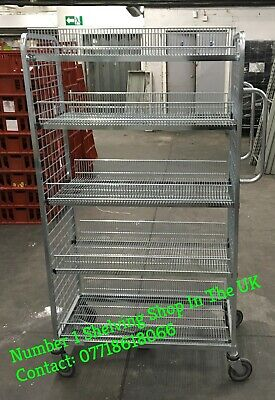 Quality Bargain Wanzi Stock Picking Cage/Trolley **Sale Price**