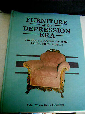 Antique Collector Hard Cover Book FURNITURE OF DEPRESSION ERA 1920 1930 & 1940's