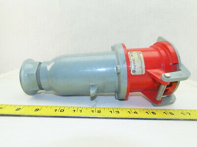 ABB ABB460C7 EC Connector 60A 3P 4 Wire 480V 3 Phase Pin & Sleeve Receptacle