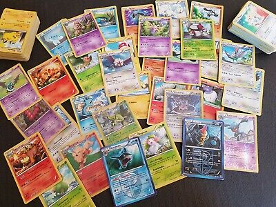 Lotto 150 carte Pokemon diversi Set 2010-2014 con rare/holo