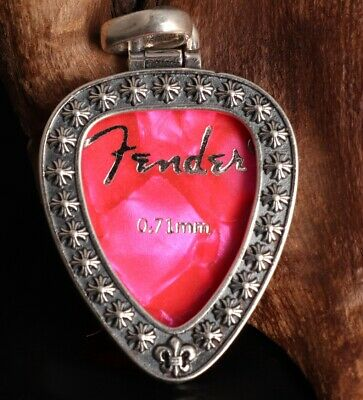 925 Silver Hand-Carved Heart-Shaped Pendant Auspicious Gift Collec Old