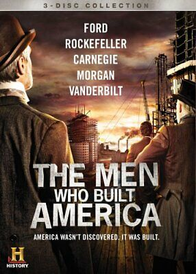 THE MEN WHO BUILT AMERICA New 3 DVD Set Complete Miniseries History Channel