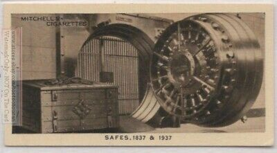 Comparing 1837 Old Strong Box and 1937 Steel John Tann Safe 80 Y/O Trade  Card