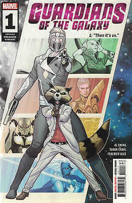 Guardians of the Galaxy #1 Juan Cabal Premiere Partial Sketch Variant Marvel