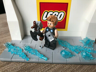 Lego Marvel Super Heroes Thor Inc Accessories Mini Figure Sh502 From Set 76102