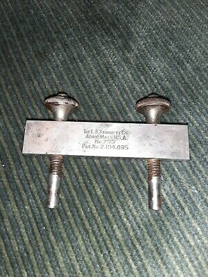 Vintage Ls Starrett #299 Rule Clamp Excellent Working Condition