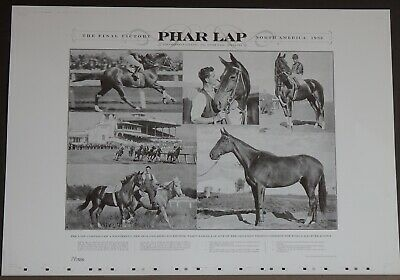 PHAR LAP, The Final Victory - North America ,1932. P.P .from 1932, 88 Years old