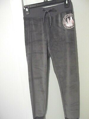 BNWT Girl's Justice Active Gray Joggers Size 12