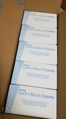 500 Psc Surgical Face Masks With Elastic Ear Loop, Fast Delivery And Dispatch