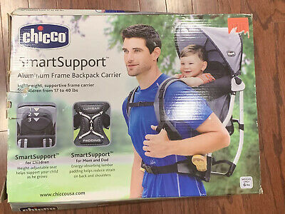 Chicco Smart Support Backpack Child Carrier Used Just Once