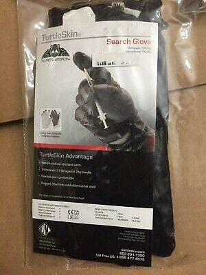 Turtleskin Search Gloves Palm is Cut & Puncture Protection  TUS-002 Search