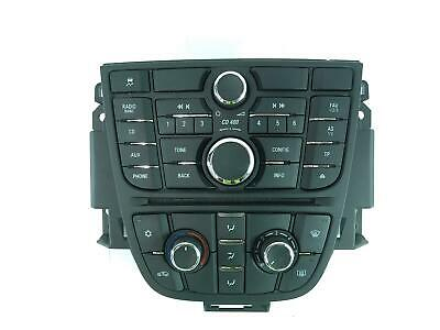 2012 VAUXHALL ASTRA Mk6 Heater Climate Controls 13360099 407