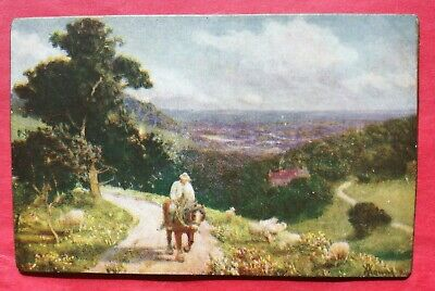 Postcard Constable Ploughing Scene in Suffolk about 1814 MODERN POSTCARD 10710
