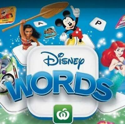 Woolworths Disney Tiles - Pick Your Own