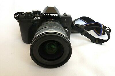 Olympus OM-D e-m10 Mark III  with/  12-50mm lens