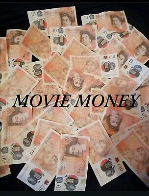 Fake £10 Notes.For Movie Props and Comical Use. 3 Notes For £2.99!!