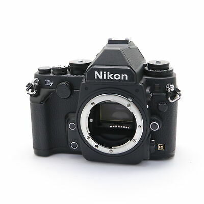 Nikon Df 16.2MP Digital SLR Camera Body (Black) shutter count 47008 shots
