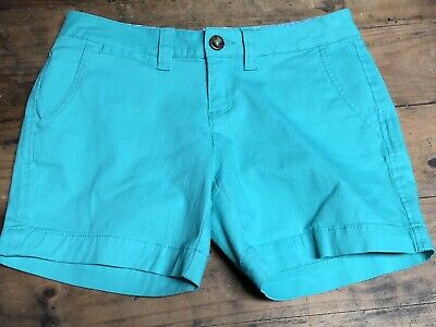 Red Camel Juniors shorts Size 5 sexy length casual Cotton Summer Green Girls