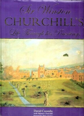 Sir Winston Churchill's Life through his Paintings by David Coombs 1st edt 2003