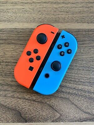 Nintendo Switch Joy-Con Controller Set (L/R) Genuine - AS IS