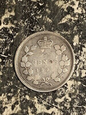 1894 Canada 5 Cents Lot#Q2017 Silver! Better Date!