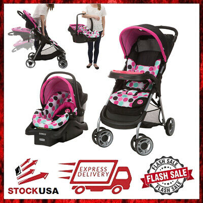 Baby Stroller and Car Seat Combo Infant Child Comfort Walker Safe Travel System