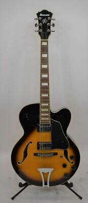 Ibanez AF75 Artcore Hollowbody Electric Guitar - Brown Sunburst 2002