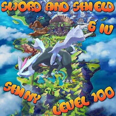 Shiny Kyurem Pokemon Sword and Shield 6IV Legendary Level 100 Battle Ready